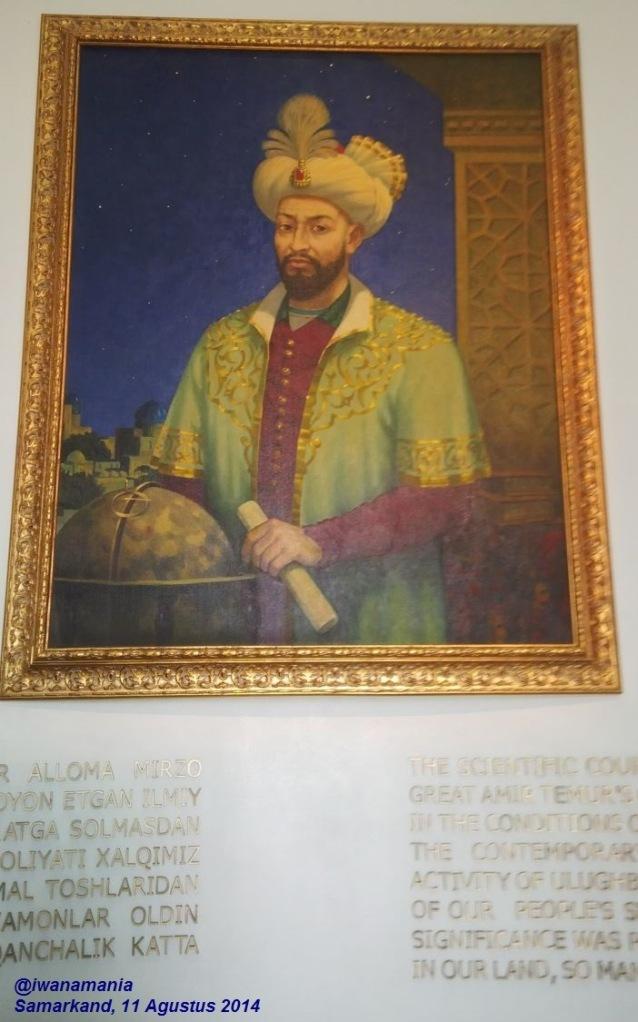 lukisan ulugh bek
